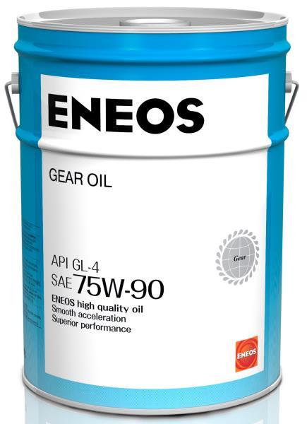 Масло трансмиссионное ENEOS GEAR GL-4 75W90 20л 8809478942544 купить в Абакане