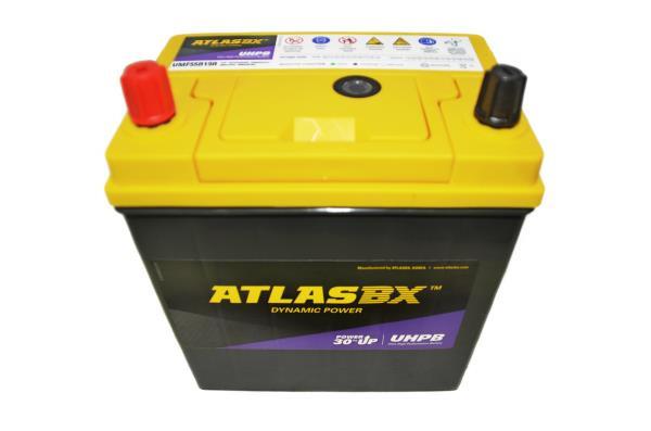 Аккумулятор ATLAS UMF, CCA400, 45АЧ, 55B19R UMF55B19R купить в Абакане