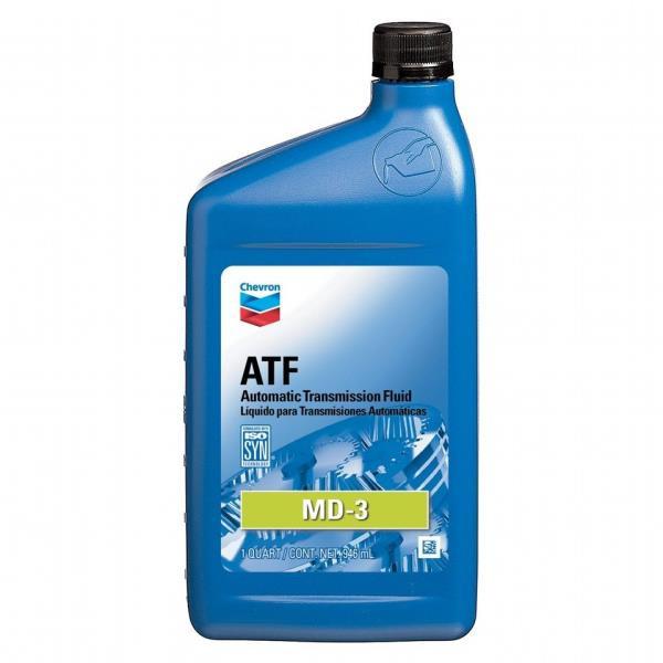 Жидкость для АКПП - CHEVRON ATF MD-3 0.946л 226502721 купить в Абакане