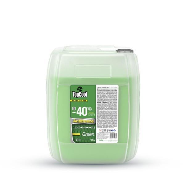 Жидкость охлаждающая TopCool Antifreeze Green -40 C 10кг. (зеленый) Z0054 купить в Абакане