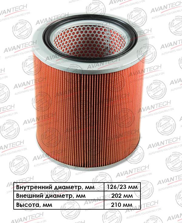 Фильтр воздушный Avantech-AF0414 AF0414 купить в Абакане