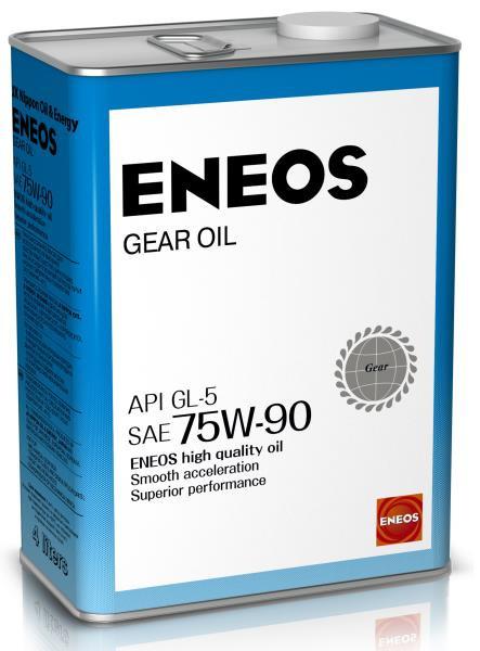 Масло трансмиссионное ENEOS GEAR GL-5 75W90 4л oil1370 купить в Абакане