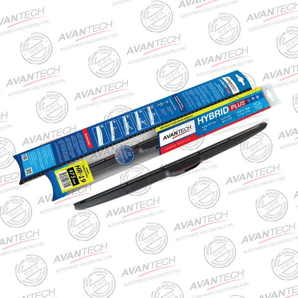 Щетка стеклоочистителя гибридная на правый руль Avantech Hybrid 475мм ( 19'' ) HR-19 купить в Абакане