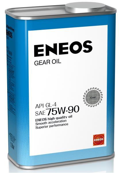 Масло трансмиссионное ENEOS GEAR GL-4 75W90 1л 8809478942506 купить в Абакане