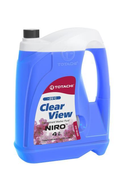 Омывающая жидкость TOTACHI NIRO CLEAR VIEW -25°C изопропил. 4л 4589904927225 купить в Абакане