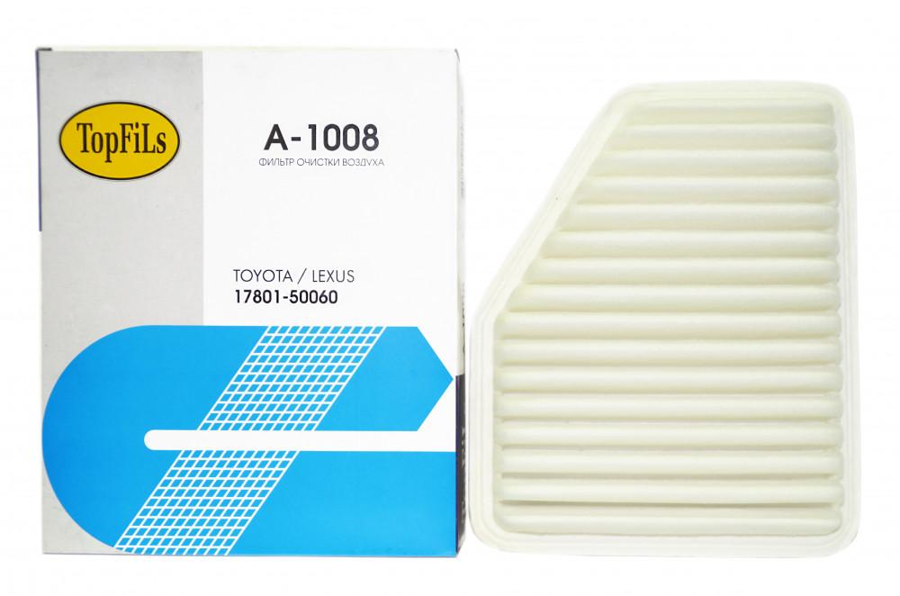 Фильтр воздушный TOP FILS A-1008 17801-50060 A-1008 купить в Абакане