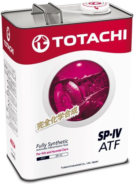 Жидкость для АКПП TOTACHI ATF SP-IV синт. 4л 4589904921421 купить в Абакане