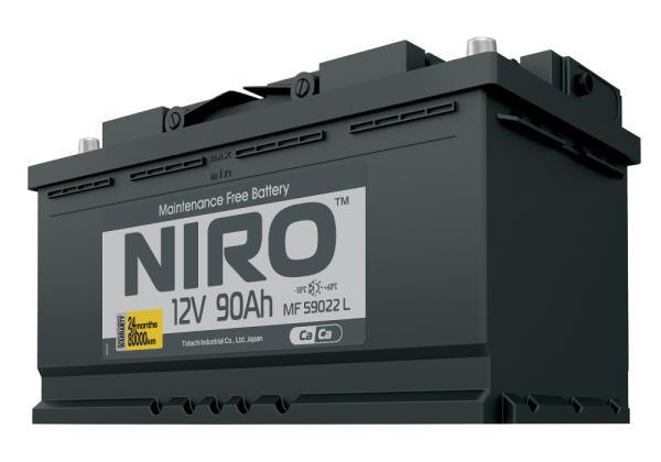 Аккумулятор NIRO MF 59022, 90а / ч L 4589904925276 купить в Абакане