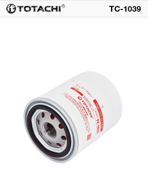 Фильтр масляный TOTACHI TC-1039 C-207 L 15208-H8903 MANN W 818 / 82 TC-1039 купить в Абакане
