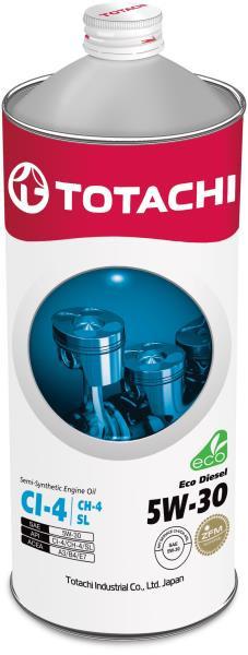Моторное масло Масло моторное TOTACHI Eco Diesel CI-4 / CH-4 / SL псинт 5W30 1л 4562374690462 купить в Абакане