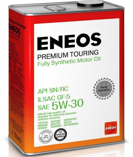 Моторное масло Масло моторное ENEOS Premium TOURING SN 5W-30 4л 8809478942216 купить в Барнауле