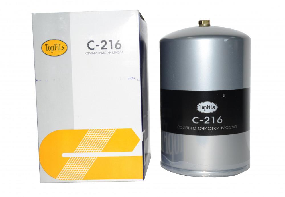 Фильтр масляный TOP FILS C-216 15201-Z9000 C-216 купить в Абакане