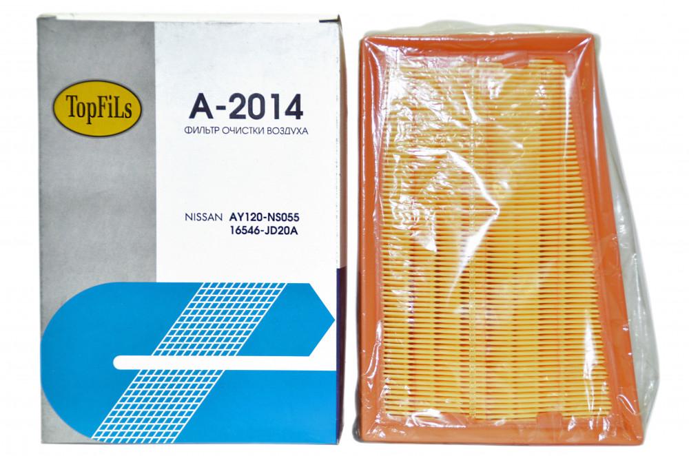Фильтр воздушный TOP FILS A-2014 AY120-NS055 A-2014 купить в Абакане