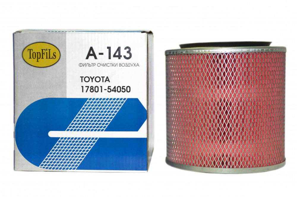 Фильтр воздушный TOP FILS A-143 17801-54050 A-143 купить в Абакане