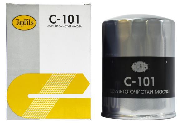 Фильтр масляный TOP FILS C-101 15600-41010 C-101 купить в Абакане