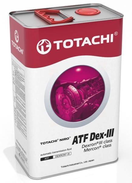 Жидкость для АКПП TOTACHI NIRO ATF DEXRON III гидрокрекинг 4л 4589904523625 купить в Абакане