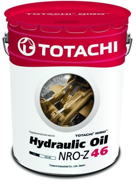 Масло гидравлическое TOTACHI NIRO Hydraulic oil NRO 46 Z минерал. 19л 4589904921841 купить в Абакане