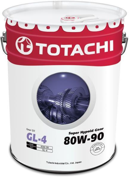 Масло трансмиссионное TOTACHI Super Hypoid Gear GL-4 псинт 80W90 20л 4562374691858 купить в Абакане