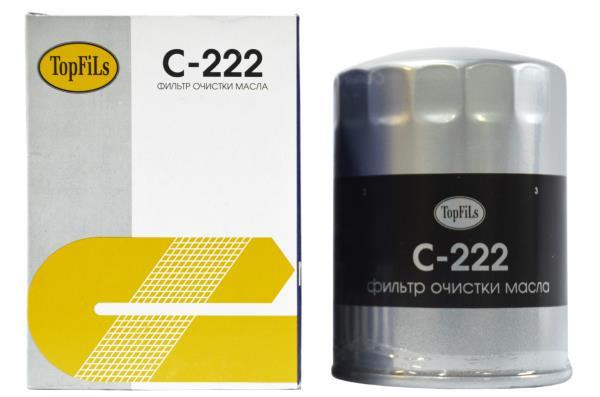Фильтр масляный TOP FILS C-222 15208-43G00 C-222 купить в Абакане