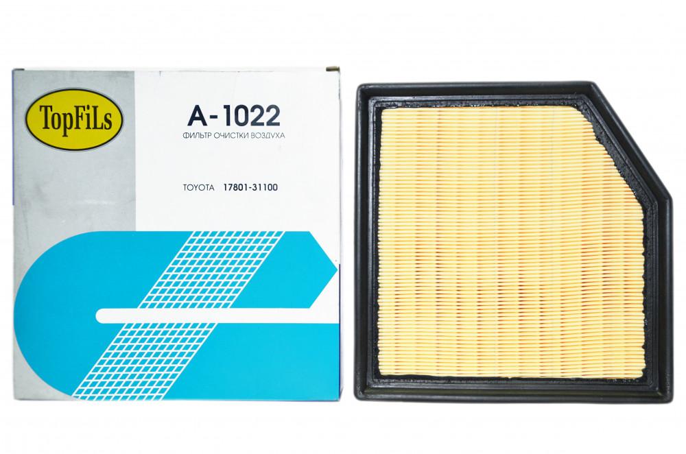 Фильтр воздушный TOP FILS A-1022 17801-31100 A-1022 купить в Абакане