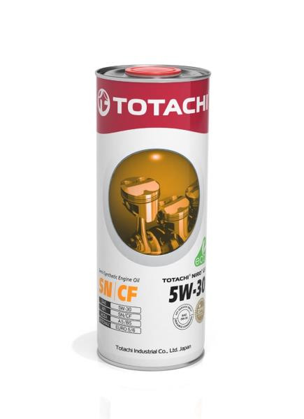 Моторное масло Масло моторное TOTACHI NIRO LV Semi-Synthetic SN / CF 5W-30 1л 4562374694965 купить в Абакане