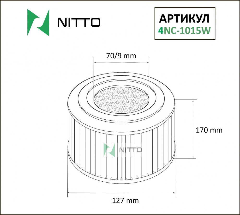 Фильтр воздушный Nitto 4NC-1015W 4NC-1015W купить в Абакане