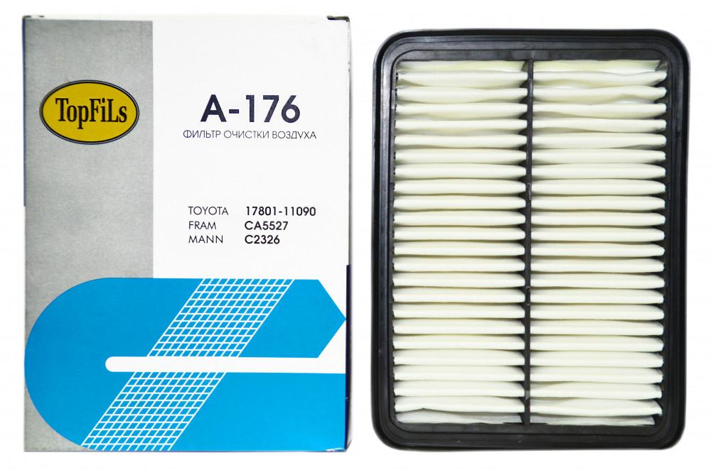 Фильтр воздушный TOP FILS A-176 17801-11090 A-176 купить в Абакане