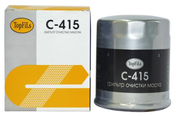 Фильтр масляный TOP FILS C-415 JEY0-14-302 C-415 купить в Абакане