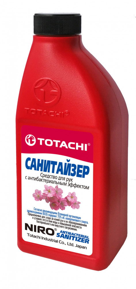 Средство для рук с антибактериальным эффектом TOTACHI NIRO 0, 5л 91150 купить в Владивостоке