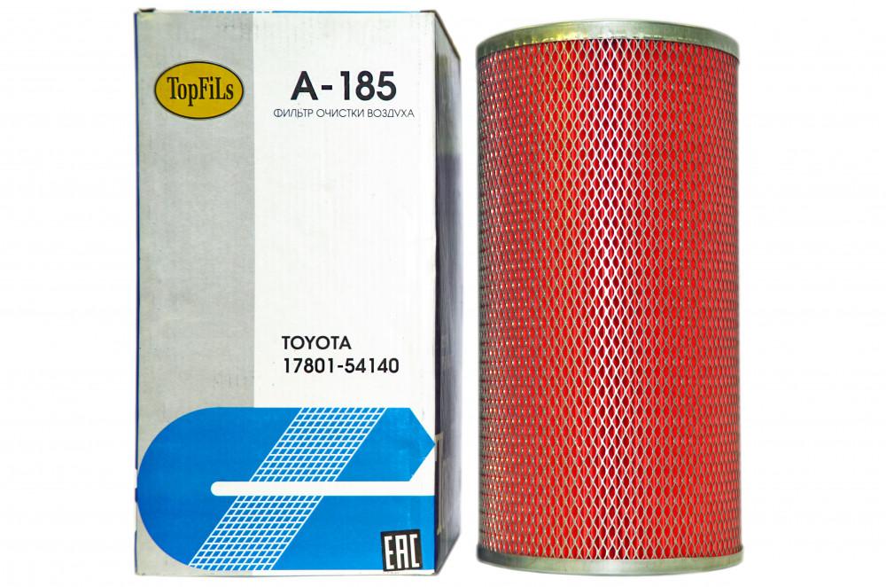Фильтр воздушный TOP FILS A-185 17801-54140 A-185 купить в Абакане
