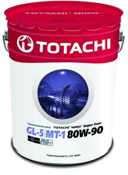 Масло трансмиссионное TOTACHI NIRO Super Gear минерал. GL-5 / MT-1 80W-90 16.5 кг 4589904921742 купить в Барнауле