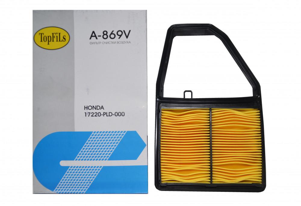 Фильтр воздушный TOP FILS A-869 V 17220-PLD-000 A-869 V купить в Абакане
