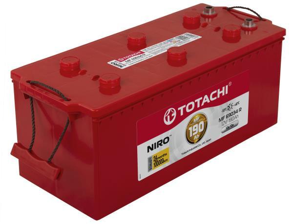 Аккумулятор TOTACHI NIRO MF 69034, 190а / ч R, унив. клеммы 4589904925474 купить в Абакане