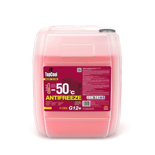 Жидкость охлаждающая TopCool Antifreeze Х cool -50 C 20л. (розовый) G12+ Z0040 купить в Абакане