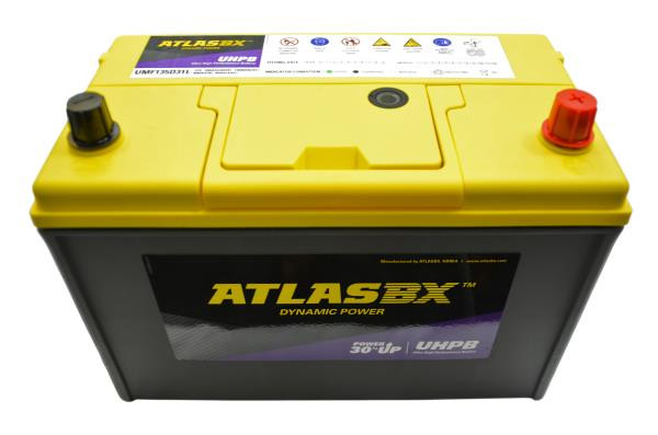 Аккумулятор ATLAS UMF, CCA850, 100АЧ, 135D31L UMF135D31L купить в Абакане