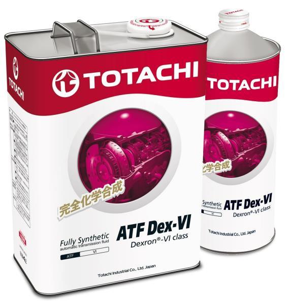 Жидкость для АКПП TOTACHI ATF Dex-VI акция 4+1=5л 4589904922152 купить в Абакане