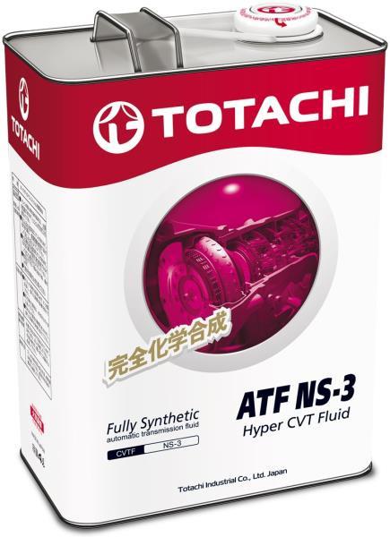 Жидкость для вариатора TOTACHI ATF NS-3 синт. 4л 4589904921520 купить в Абакане
