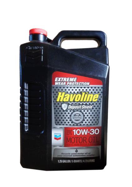 Моторное масло Масло моторное полусинтетическое - HAVOLINE M / O SAE 10W-30 4.73 л. 223395485 купить в Абакане