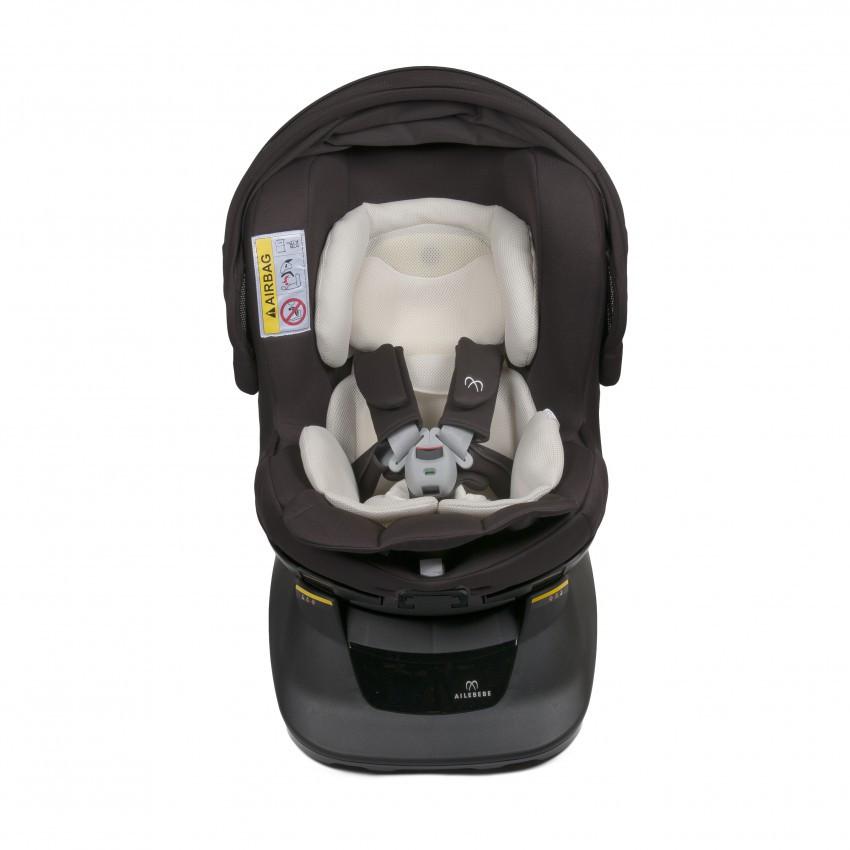 Кресло детское автомобильное Kurutto NT2 Premium, группа 0+ / 1, коричневое ALB861E купить в Абакане