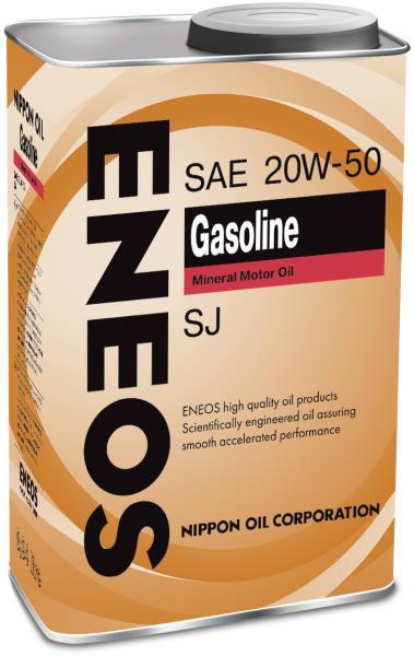 Моторное масло Масло моторное ENEOS Gasoline SJ Минерал 20W50 0, 94л 01000146 купить в Абакане