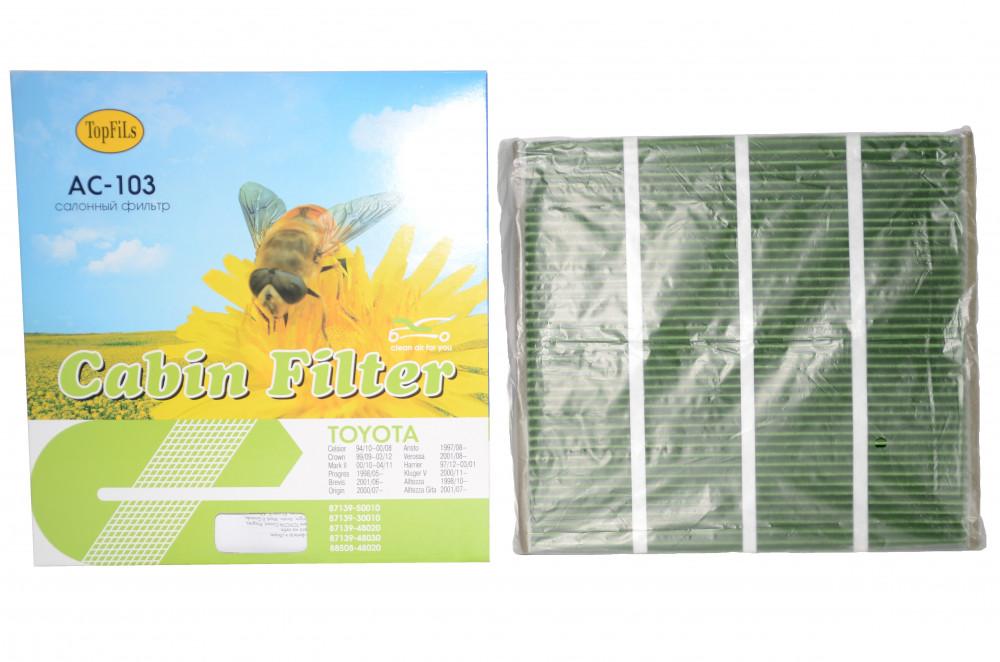 Фильтр салонный TOP FILS AC-103 / AC-104 87139-30010 AC-103 / AC-104 купить в Абакане