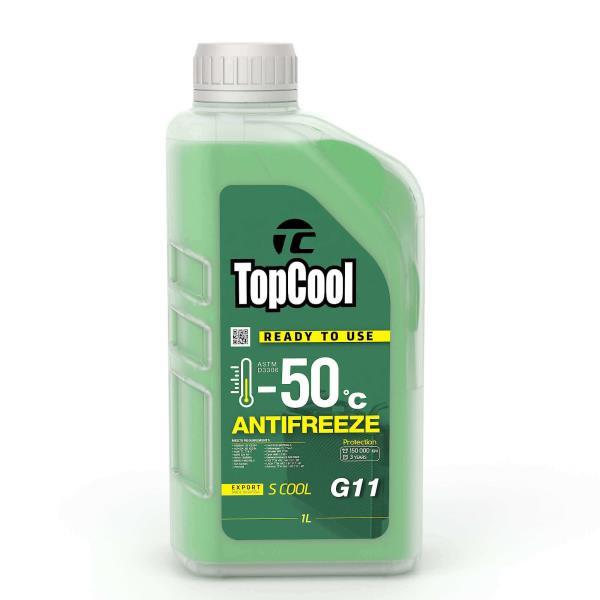 Жидкость охлаждающая TopCool Antifreeze S cool -50 C 1л. G11 Z0023 купить в Абакане