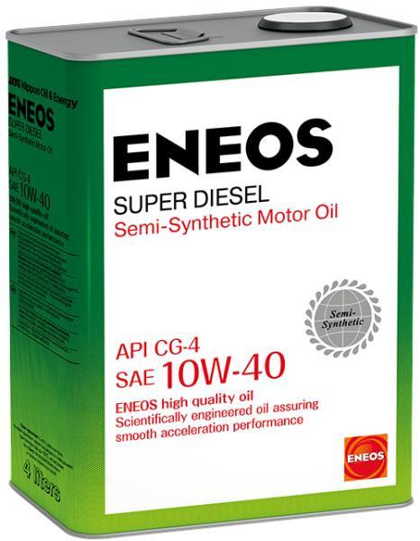 Моторное масло Масло моторное ENEOS Super Diesel CG-4 псинт 10W40 4л oil1328 купить в Абакане