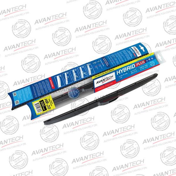 Щетка стеклоочистителя гибридная на правый руль Avantech Hybrid 500мм ( 20'' ) HR-20 купить в Абакане