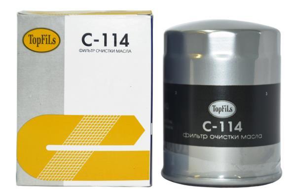 Фильтр масляный TOP FILS C-114 90915-03005 C-114 купить в Абакане