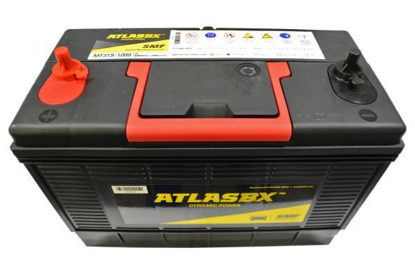Аккумулятор ATLAS MF 120 31S-1000 винт MF31S-1000 купить в Абакане