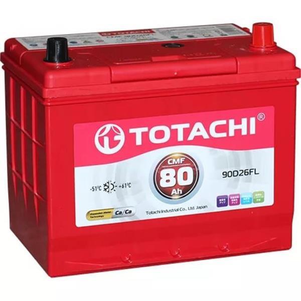Аккумуляторная батарея TOTACHI CMF 80 а / ч 90D26 FR 4589904525742 купить в Барнауле