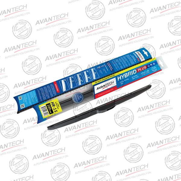 Щетка стеклоочистителя гибридная на правый руль Avantech Hybrid 380мм ( 15'' ) HR-15 купить в Абакане