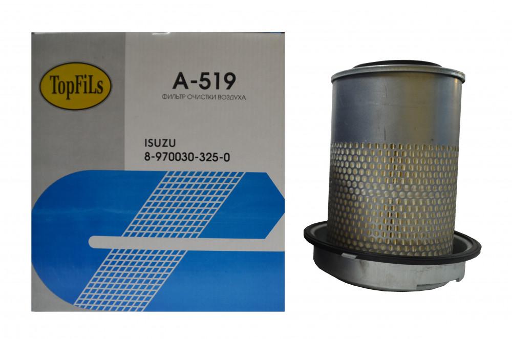 Фильтр воздушный TOP FILS A-519 8-97030325-0 A-519 купить в Абакане