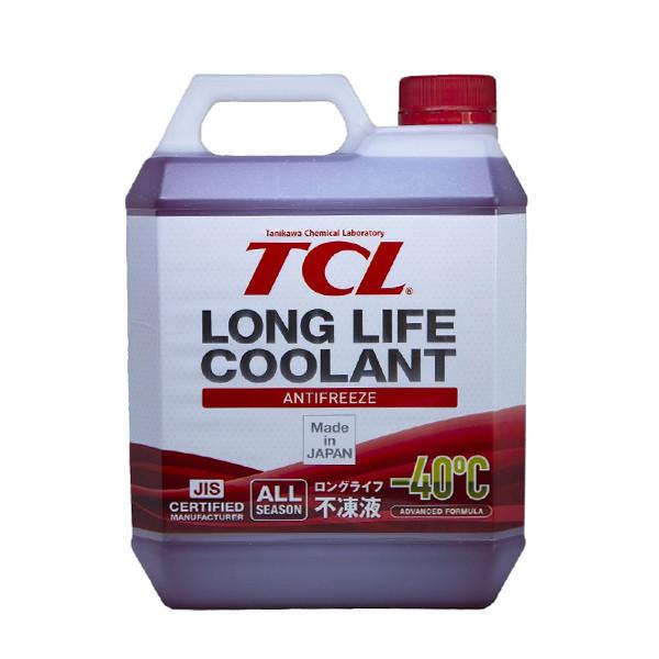 АНТИФРИЗ TCL LLC -40C красный, 4 л LLC01236 купить в Абакане